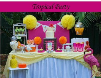 Tropical Party Icon