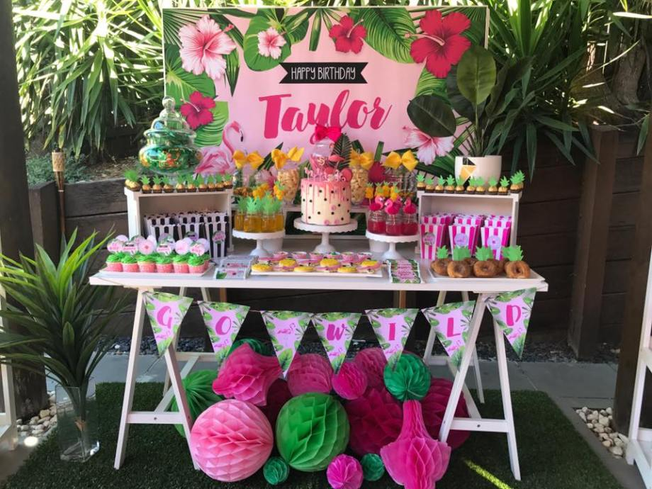 Tropical Party- Peony Pepper Events and Styling