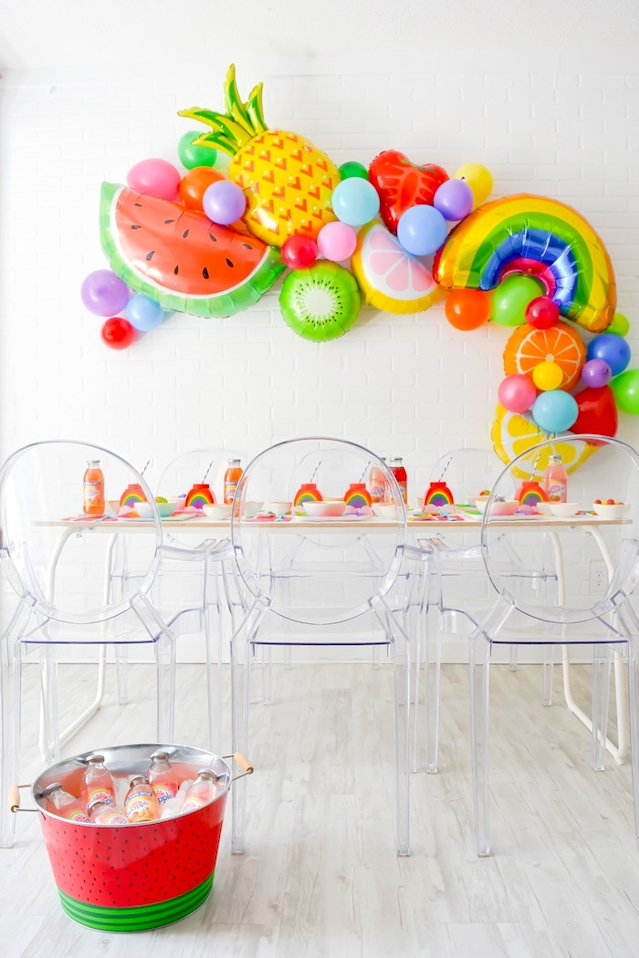 Tutti-Frutti-Rainbow-Party-Karas Party Ideas