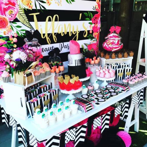 Beauty Parlour Kids Party9