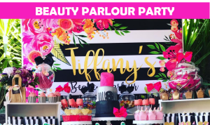 Beauty Parlour Party Icon