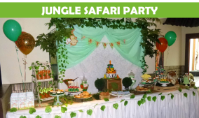 Jungle Safari Party Icon