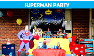 Superman Party Icon
