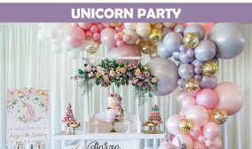 Unicorn Party Icon