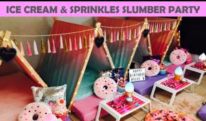 Ice Cream Doughnuts Slumber Party Icon