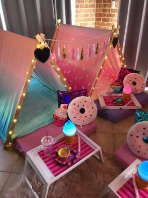 Ice Cream Doughnuts Slumber Party