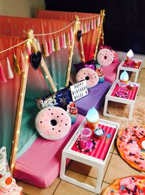 Ice Cream Doughnuts Slumber Party3