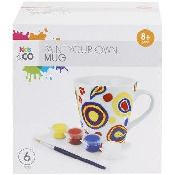 Paint your own mug set Kmart