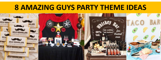 Guys Party Ideas Ad