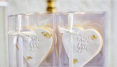 White gold silver kitchen tea bridal shower dessert buffet bonbonierre
