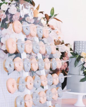 Blush Pink Silver Luxury Party Event10