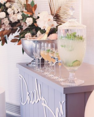 Blush Pink Silver Luxury Party Event11