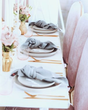 Blush Pink Silver Luxury Party Event12