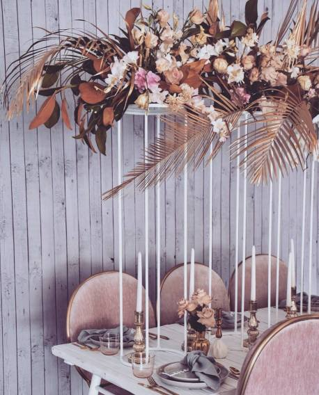 Blush Pink Silver Luxury Party Event2