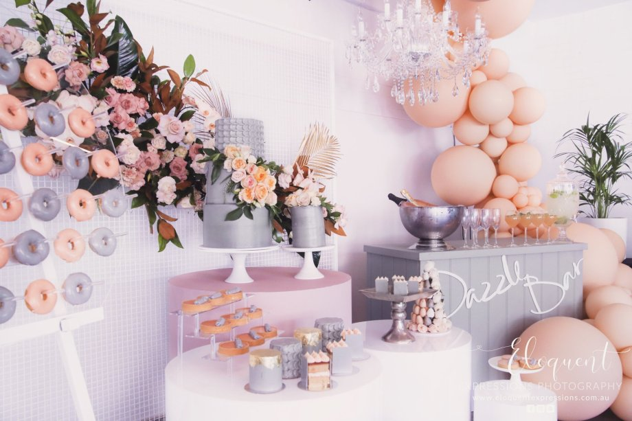 Blush Pink Silver Luxury Party Event5
