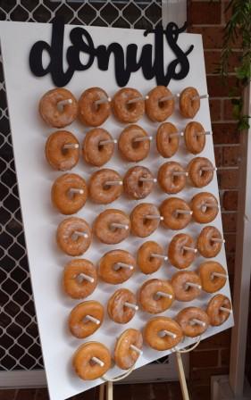 Doughnut Wall party