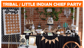 Tribal Little Indian Chief Party Icon.png