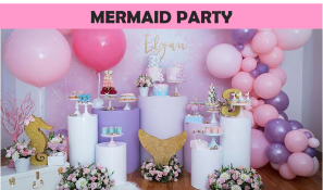 Mermaid Party Icon