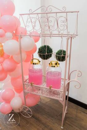 Pink Gold White Girls Party10
